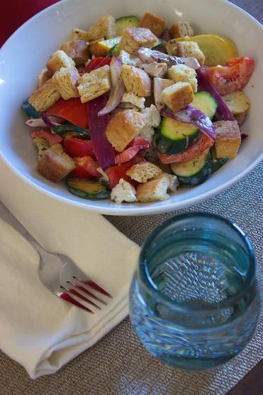 Vibrant Spring Bread Salad