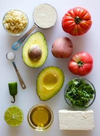 Ingredeints for Tomato-Avocado Salad