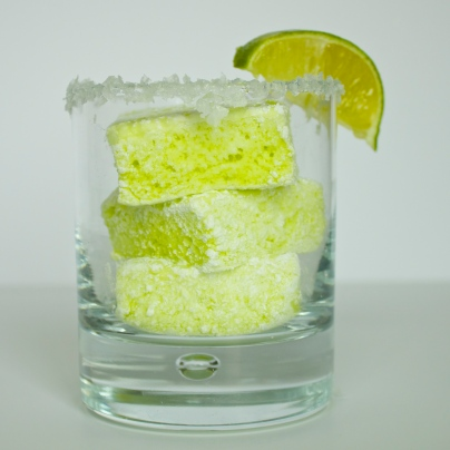 Salted Lime Marshmallows