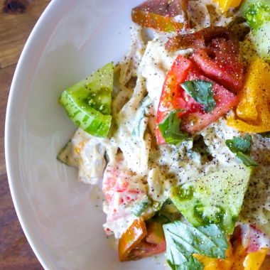 Heirloom Tomato Pasta