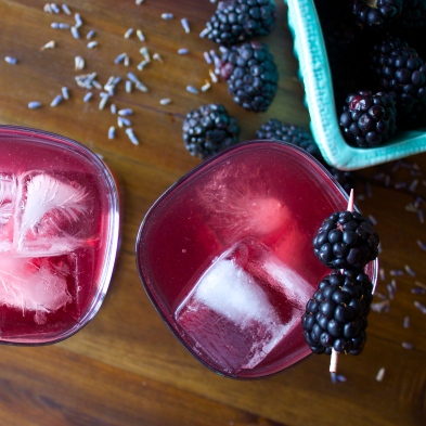 Blackberry Lavender Fizz