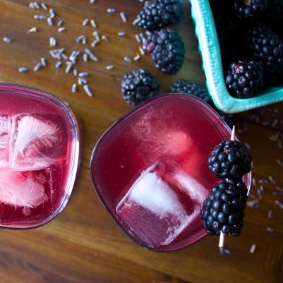Blackberry Lavender Fizz
