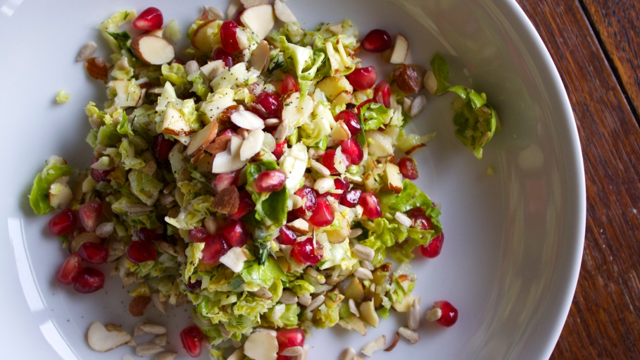 Winter Pomegranate Slaw