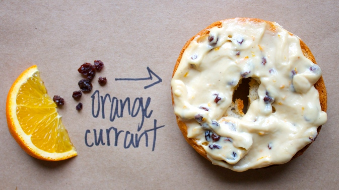 Orange Currant Cream Cheese