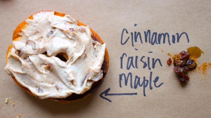 Cinnamon Raisin Cashew Cream Cheese