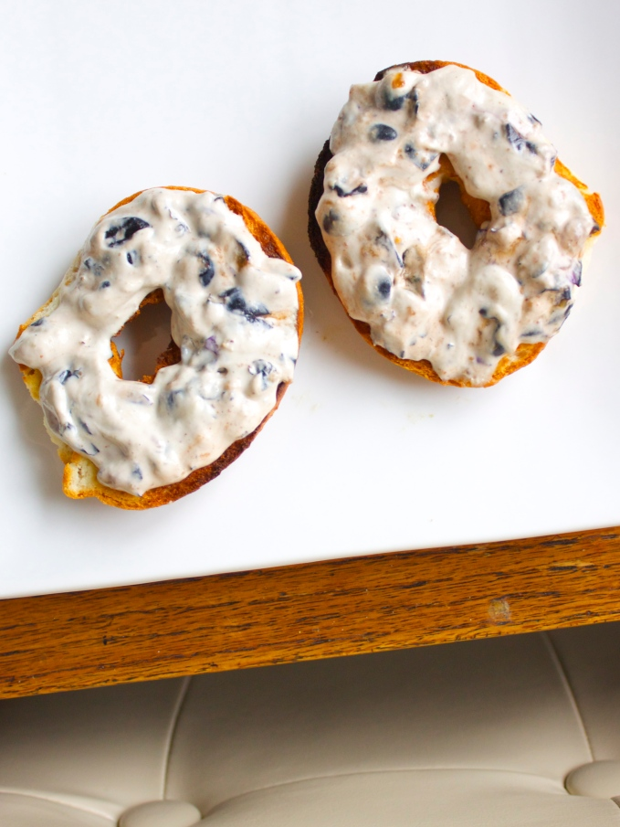 Blueberry Lavender Cashew Cream Cheese