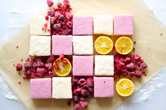 Sugared Raspberry Lemondropmallows